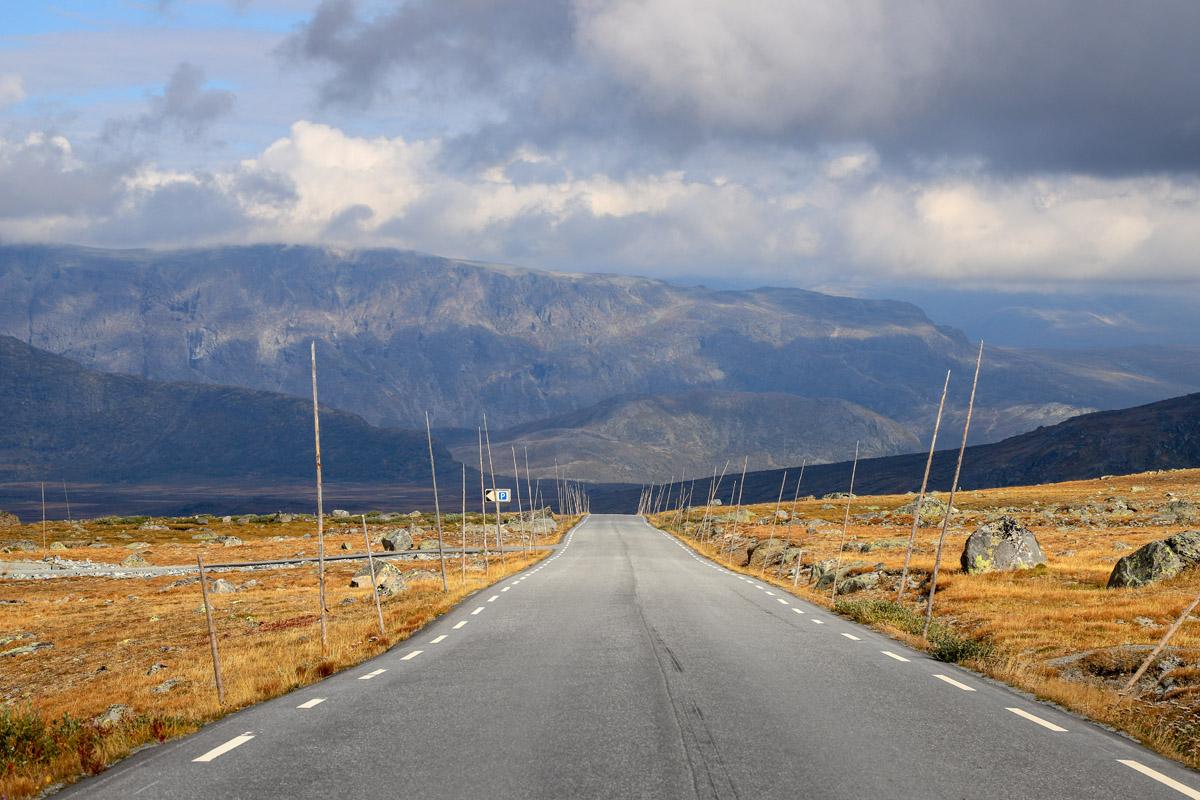 Am Nationalpark Jotunheimen vorbei ins irgendwo an den See Tretjerna